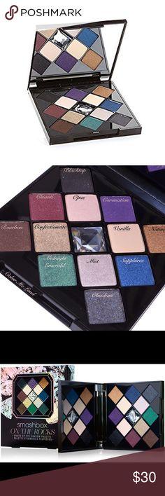 SMASHBOX NIB On The Rocks bold shadow palette Brand new super gorgeous highly pigmented colors! Smashbox Makeup Eyeshadow