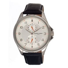 Vintage I Men's Silver Black  by Giorgio Fedon 1919