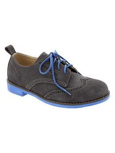 Contrast oxfords - the little guy
