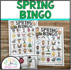 Spring Bingo by Primary Playground | Teachers Pay Teachers