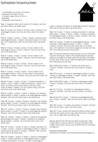 Wat maakt ze nu weer?: Patroon gehaakte kroonluchter Crochet Lamp, Catcher, Health, Diy, Health Care, Bricolage, Do It Yourself, Homemade, Diys