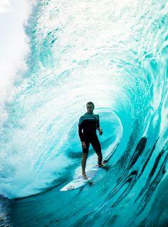036 33610 — surf4living: Brett Barley locked in. Ph: Corey...