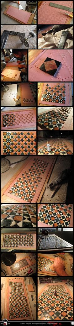 Materials used: modeling clay, flour glue, vinyl glue, cement, marble wastes, iron grid                       SEE FULL POSTS HERE:   Costr...