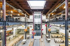 Pinterest, San FranciscoTo fit with the mission of the online curation site, Pinterest wanted a headquarters that its employees could help personalize.
