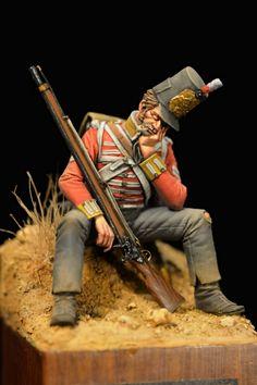 British infantry, Peninsular War, ca. 1810