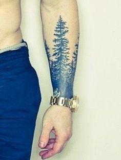 Best Forearm Tree Tattoos for Men