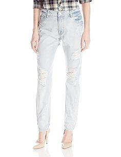 [AMAZON] MINKPINK Women's Badlands Destructed Boyfriend Jeans - $33.08 with FREE SHIPING WORLDWIDE!