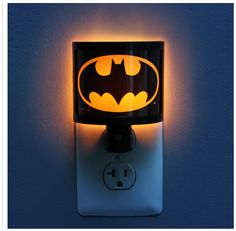 Tiny Super Hero Baby and Toddler Gifts: Batman Nightlight @ Think Geek