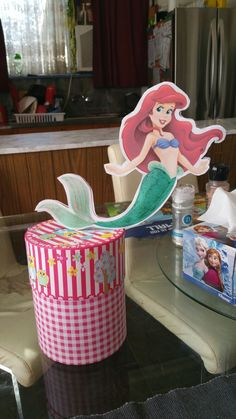The little Mermaid cake topper Little Mermaid Cake Topper, The Little Mermaid, Event Decor, Cake Toppers, Events, Home Decor, Decoration Home, Room Decor, Little Mermaids