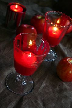 """""""Bloody"""" Candles #halloween"""