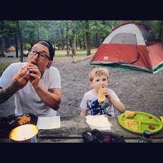 photo by michellelncln: #dinner #camping @iansayres