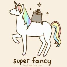 Unicorn and Pusheen!