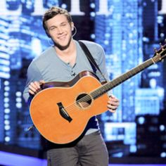 Phillip Phillips from American Idol...so unique an love the way he sings