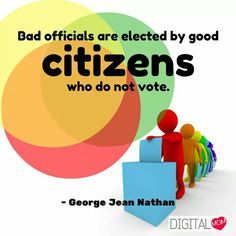 Indian National Voter's Day on 25th January  #Citizen #Vote #Voter #DigitalMom #Quote #NationalVoterDay #January25 www.digitalmom.in