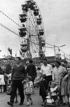 1967: Family day at the Royal Melbourne Show. Picture: Herald Sun Image Library