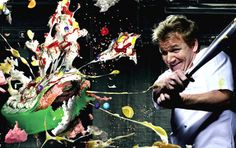 Gordon Ramsey Food creativity