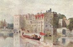 Another great image of The Savoy Palace on the Strand. Uk History, Family History, British History, Philippa Of Hainault, Peasants' Revolt, Duke Of Lancaster, John Of Gaunt, Chester Cathedral, Tudor Dynasty