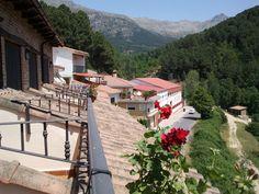 Desde las terrazas de la tercera planta de @Hotel Rural Los Molinillos