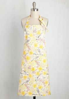 I want this yellow & gray bird apron!! I love the colors. The Ultimate Mother's Day Gift Guide 2016 — Create. Inspire. Connect.