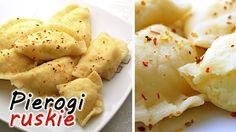Pierogi ruskie (Dumplings), to wspaniałe polskie:) pierogi z farszem z białego sera i ziemniaków. Z dodatkiem podsmażonego boczku smakują wyśmienicie.