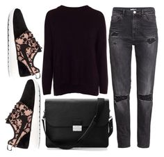 """""""Set#294"""" by sobiyet ❤ liked on Polyvore featuring H&M, New Look, NIKE and Aspinal of London"""