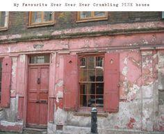 Crumbling pink