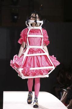Comme Des Garcons @ Paris Womenswear S/S 2014 - SHOWstudio