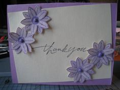 Like how the flowers were made Crafts at Splitcoaststampers
