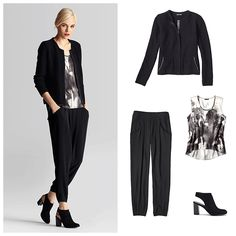 eileen fisher office outfit