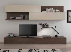 Modern Wall Unit Logika LK12 by Spar - $2,750.00