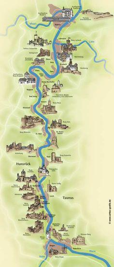 Burgen & Schlösser am Rhein | boppard-tourismus