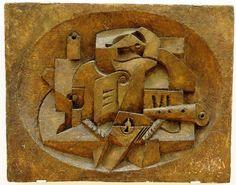 Nature morte aux instruments de musique, Jacques Lipchitz (1891 - 1973)  MAMCS, Strasbourg