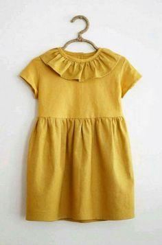 Kids Clothing Custom Handmade Dress by SweetHannahBDesigns on Etsy Little Girl Fashion, Toddler Fashion, Kids Fashion, Cute Outfits For Kids, Toddler Outfits, Fashion Niños, Moda Kids, Inspiration Mode, Little Girl Dresses