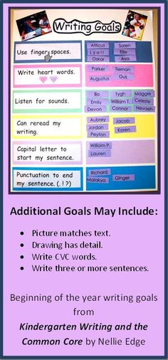 Writing Goals, Writing Topics, Narrative Writing, Opinion Writing, Writing Lessons, Writing Activities, Writing Ideas, Kindergarten Writing, Teaching Writing