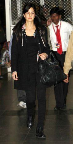 Katrina, Shah Rukh, Ranbir snapped at the airport