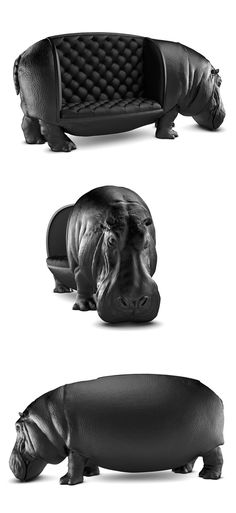 Try something new and let the mighty Hippo be the animal spirit in you. Check it out==>  http://gwyl.io/one-kind-hippopotamus-chair-maximo-riera/