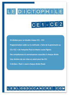 Le dictophile version CE1-CE2 (méthode Picot)