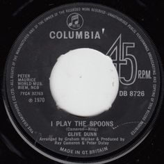 Clive Dunn - I Play The Spoons (1970)