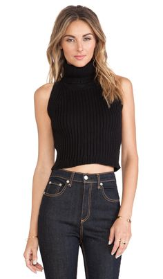 Shop for Lovers + Friends North Star Crop Sweater in Black at REVOLVE. Ribbed Sweater, Cropped Sweater, Historical Costume, Revolve Clothing, Basic Tank Top, Down Shirt, Camisole Top, Turtle Neck, Crop Tops