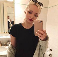 "-dove cameron- ""hiya, i'm logan!! i'm 17 and single. i'm a city girl, but i'm not a snob about it. i love making new friends.. so hi?"" i smile"