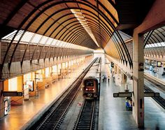 Santa Justa station in Sevilla, España.