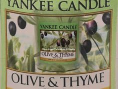 Diario di una Tartizzatrice di Candele: OLIVE & THYME