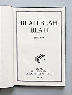 blah, blah.... dang it!  I was writing this same book and someone beat me to it!