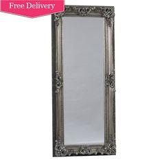 Full Length 'Kingston' Mirror In Silver