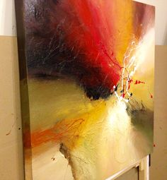 From the studio of Dan Bunea, living abstract paintings, www.danbunea.ro