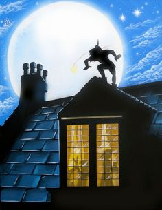 After watching OUAT every week, I don't think I want Pan visiting my bedroom window.