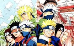 Team kakashi and Team Minato now and then
