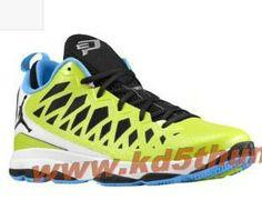 Jordan CP3.VI Nitro Pack Atomic Green Black Blue CP3 Shoes 2013