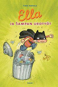 Ella ja Sampan urotyöt My Childhood, Batman, Reading, Fictional Characters, Google, Reading Books, Fantasy Characters