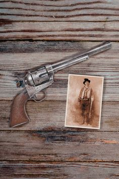 Coming to auction on August 27th at Bonhams in Los Angeles is the most iconic treasure of early western history -- the gun Pat Garrett used to kill Billy the Kid. The Early West: The Collection of Jim and Theresa Earle features the most important and well-documented collection of historic firearms belonging to Western Lawmen and Outlaw Legends, with extensive related manuscripts, photographs, memorabilia and Western Art. Browse the sale online and register to bid. Kill Billy, Old West Outlaws, Pat Garrett, Billy The Kids, Western Art, Motor Car, Firearms, Gun, Legends